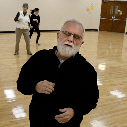 """BEST 3. Tina Schoenherr, of Hudson, dances to the music during a ""reconnect with your body"" workout on Wednesday, Jan. 21, at the Apex Community Center in Arvada. For more photos and video of the workout go to www.dailycamera.com Jeremy Papasso/ Camera """